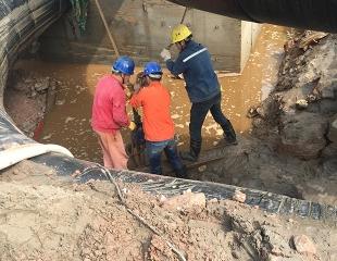 隧道区间路基础劳务建设