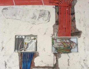 民用建筑强弱电安装